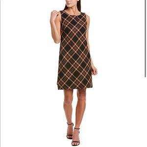 NWT Tina Turk Brynne Plaid Women's Shift Dress